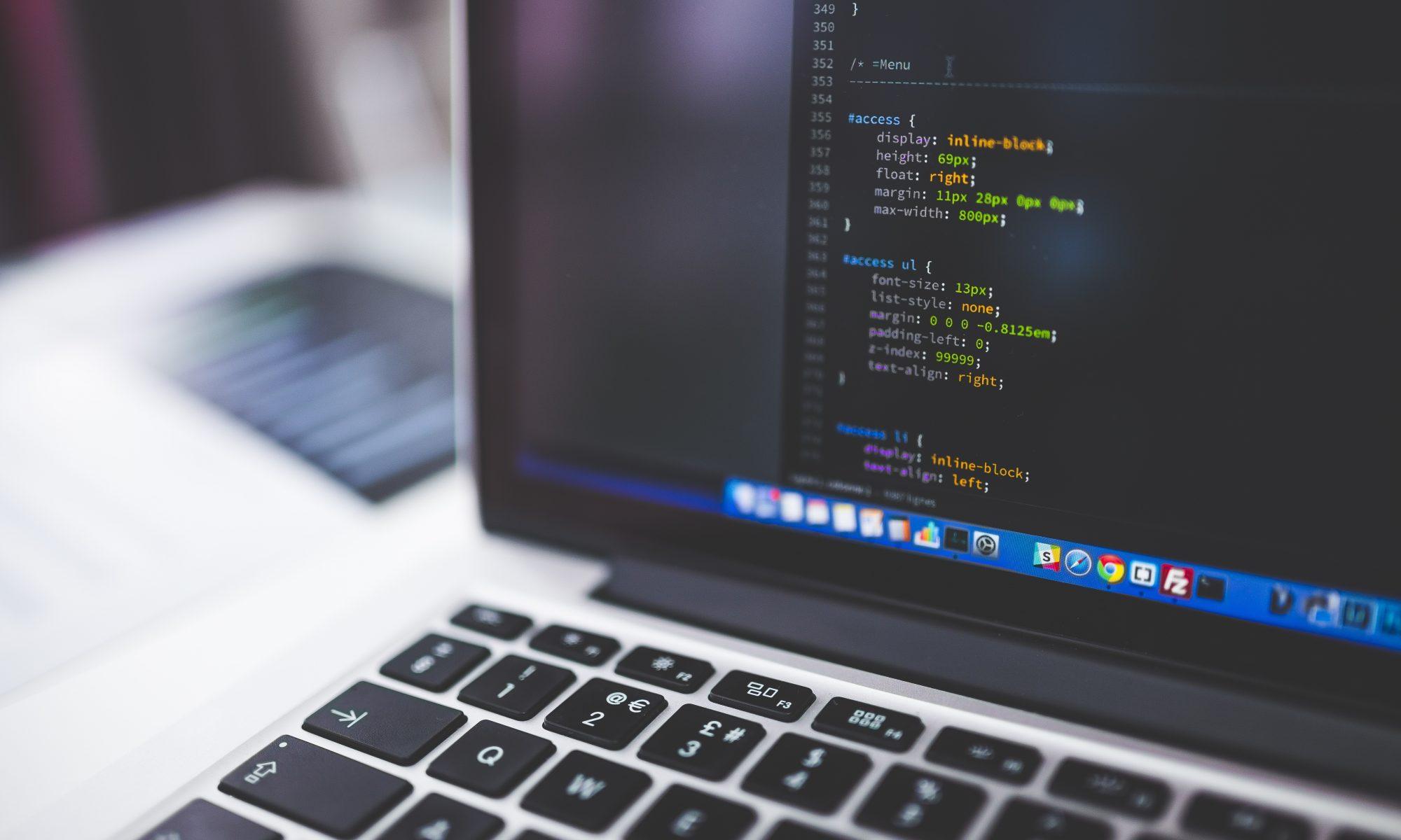 Computer met code